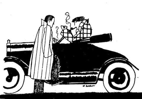 ilustração   william faulkner